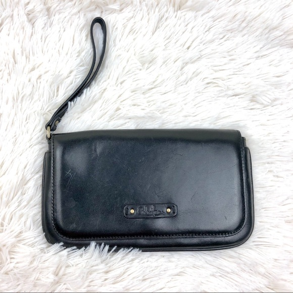 Cole Haan Black Leather Wallet